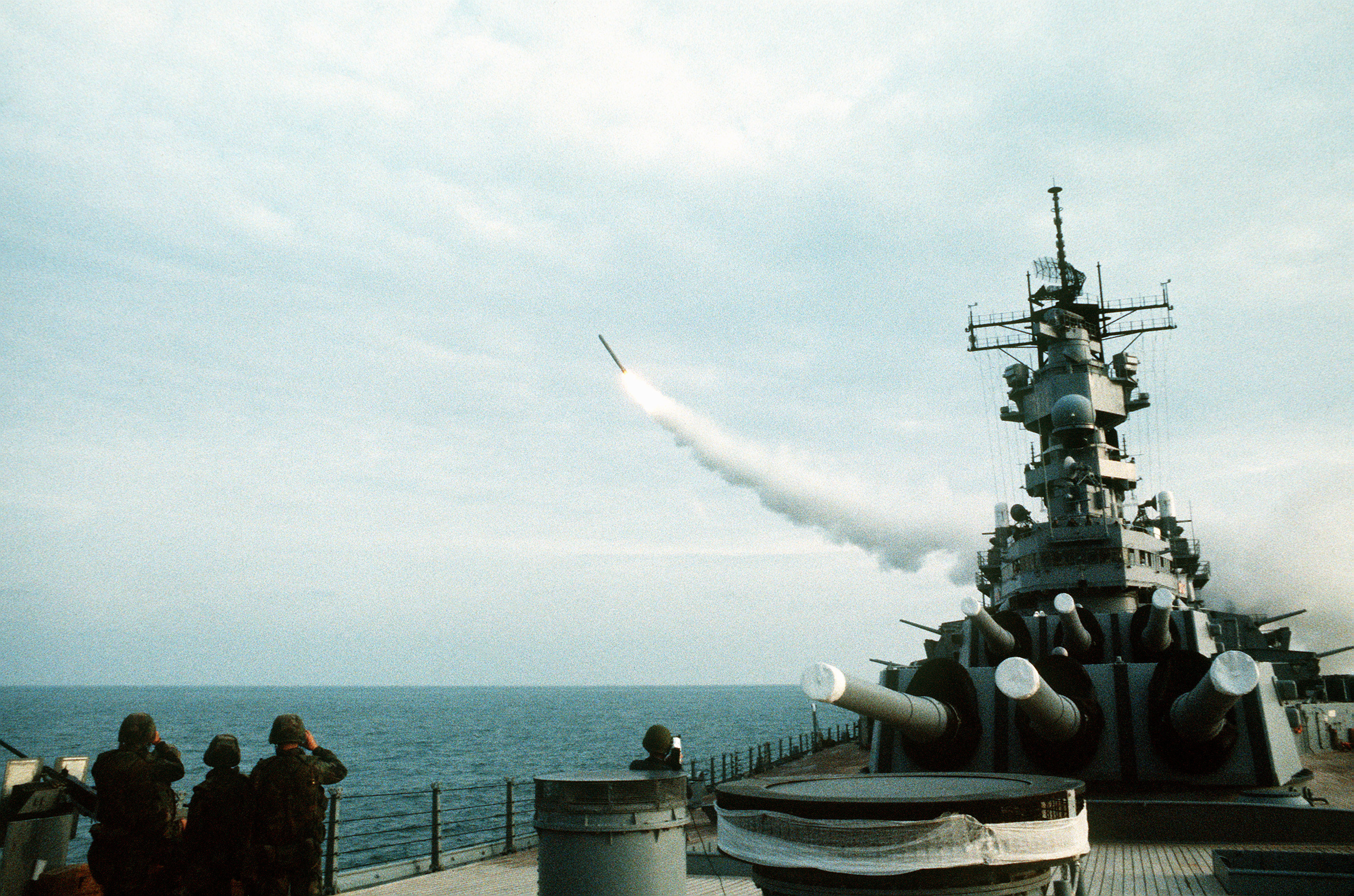 military Navy battleship missiles HD Wallpaper