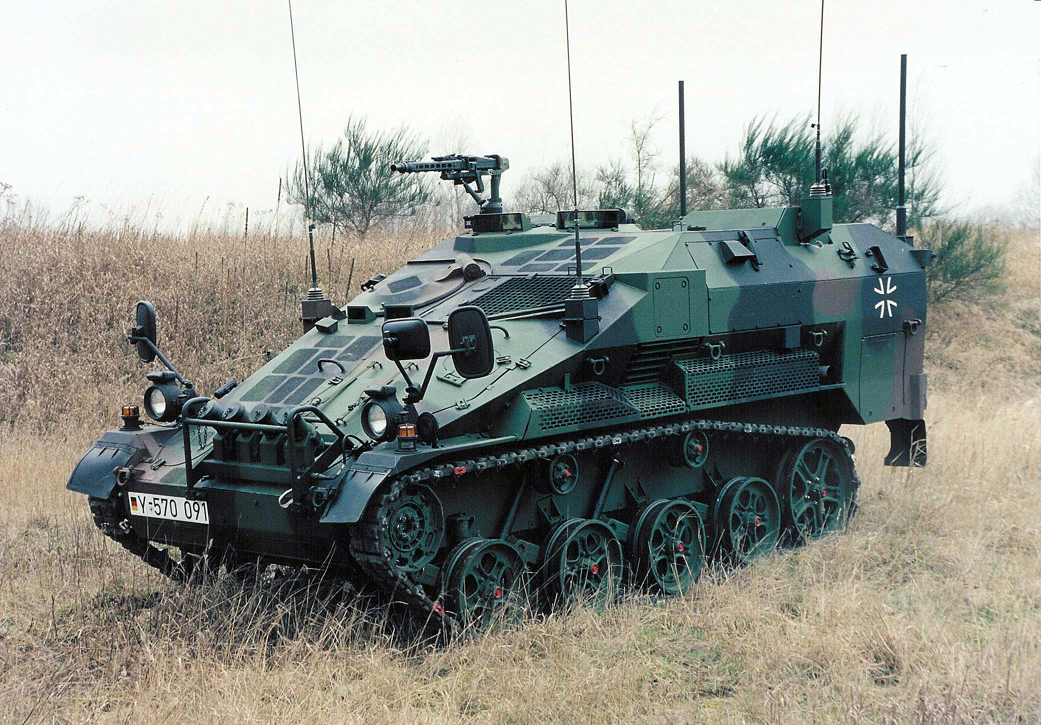 military tanks Wiesel AWC