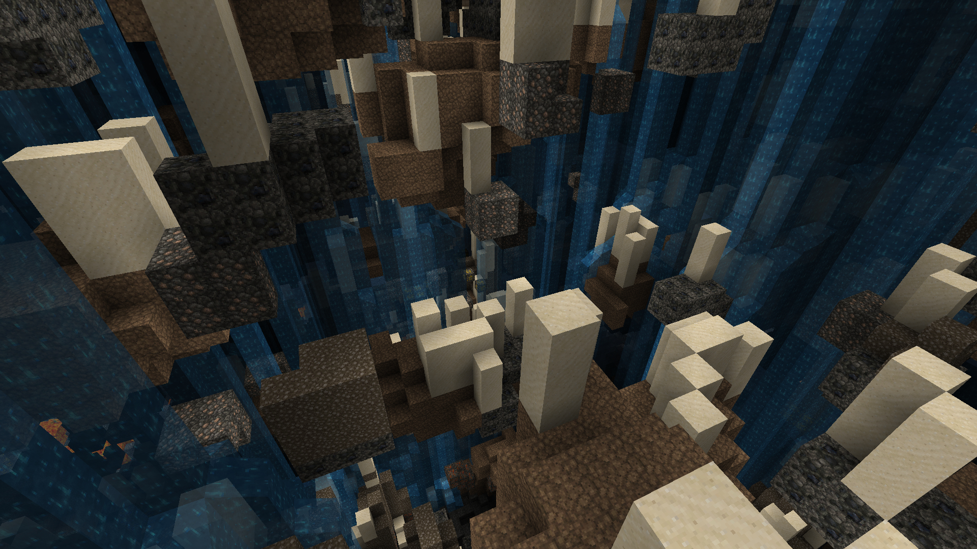 minecraft abstract underground video HD Wallpaper