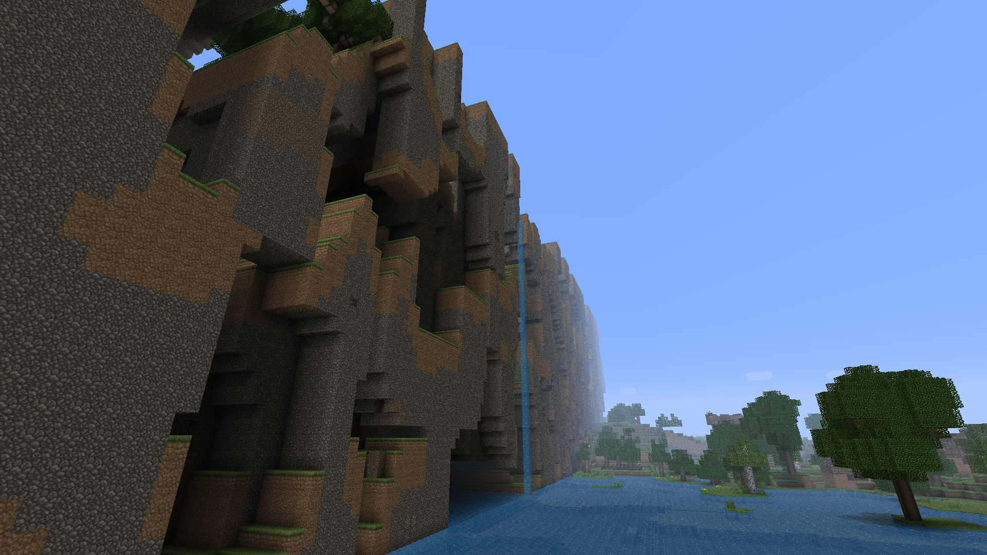 minecraft far lands video HD Wallpaper