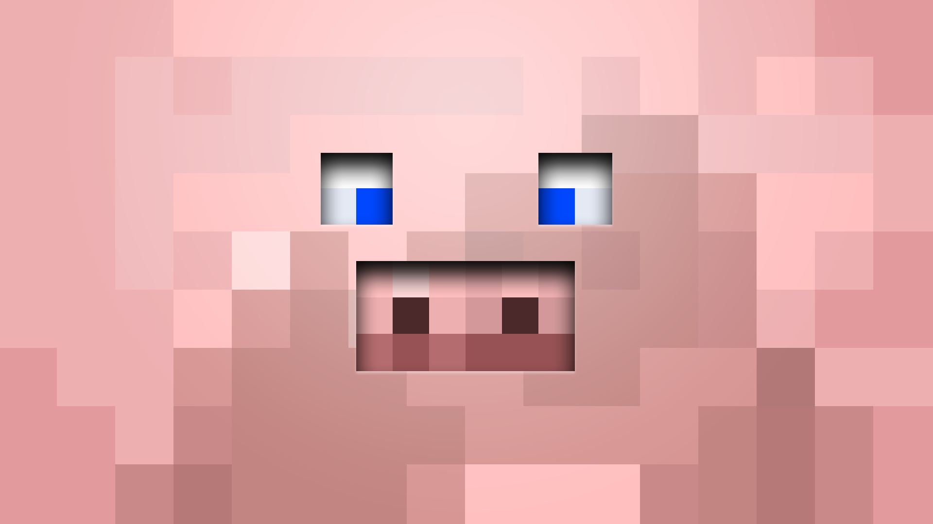 minecraft pigs faces game HD Wallpaper