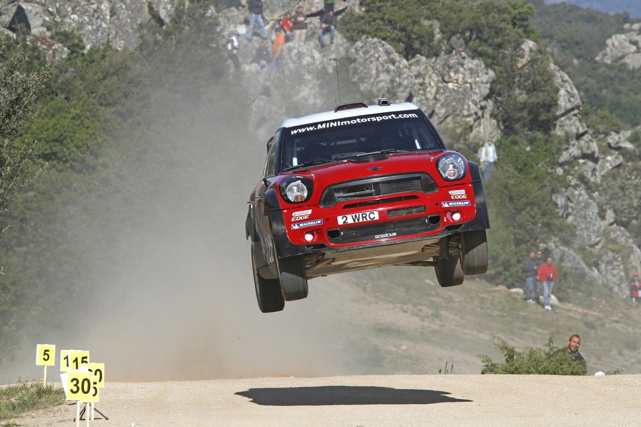 Mini Countryman WRC rally HD Wallpaper