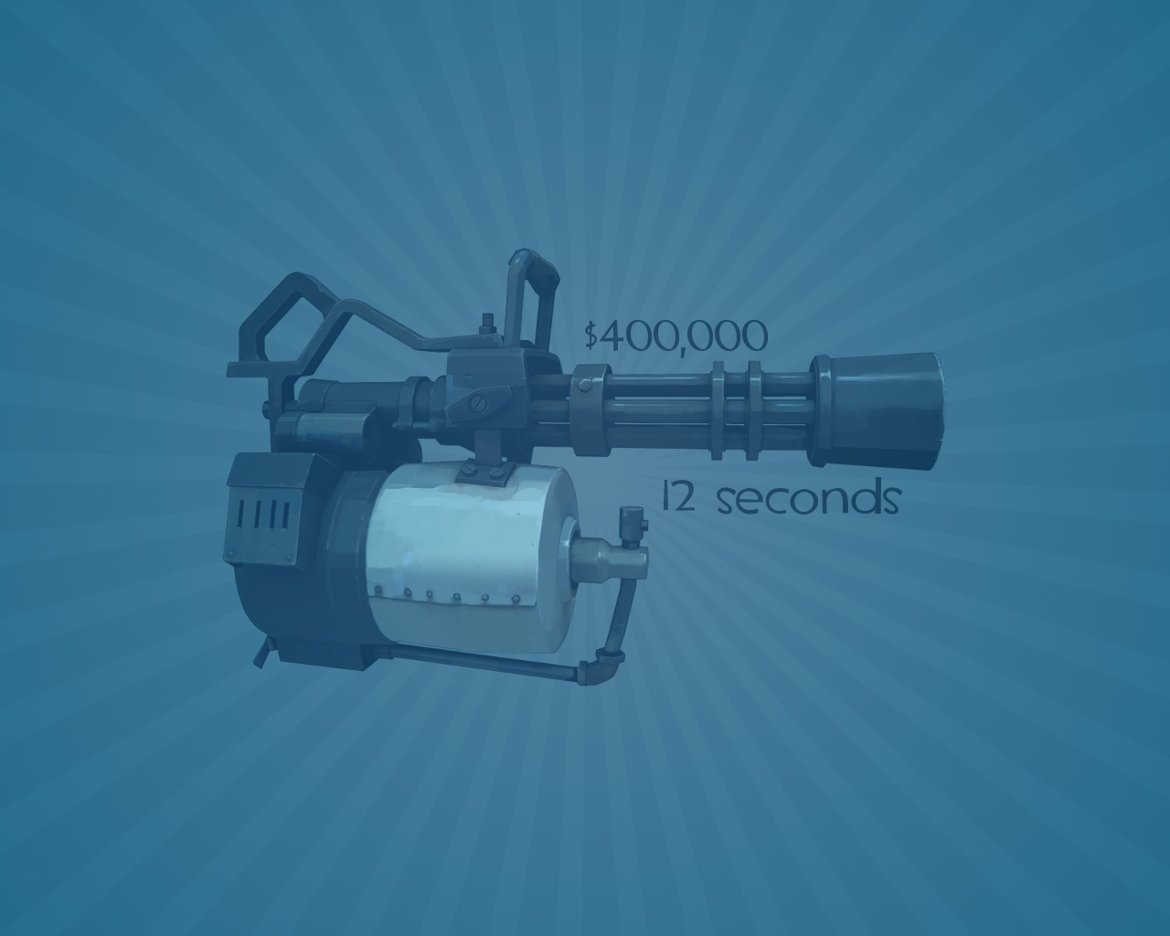 minigun video games valve HD Wallpaper
