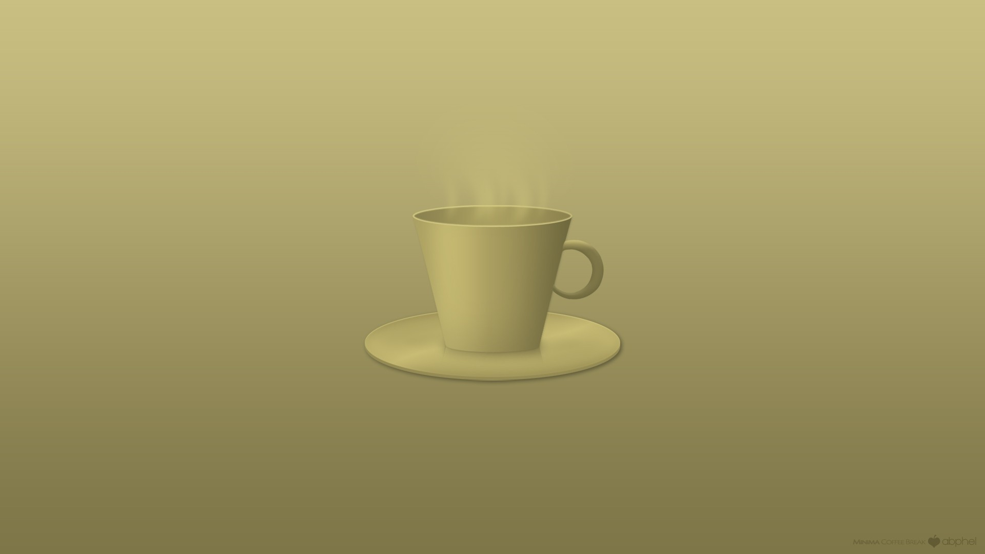 minimalistic coffee HD Wallpaper