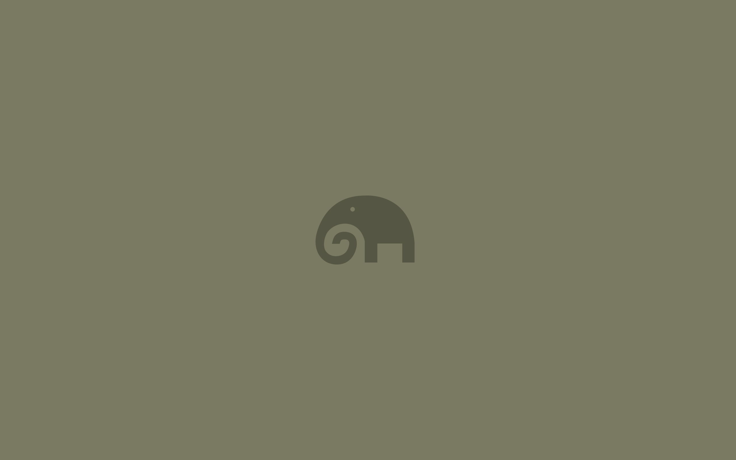minimalistic elephants HD Wallpaper