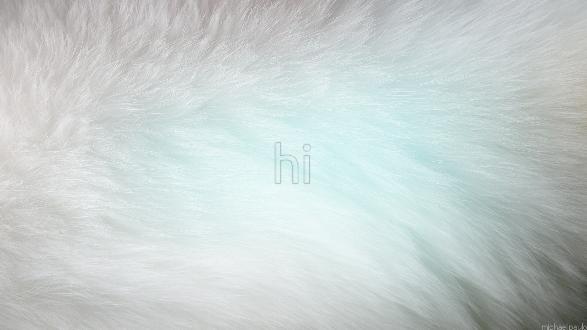 minimalistic fur Michael paulo HD Wallpaper