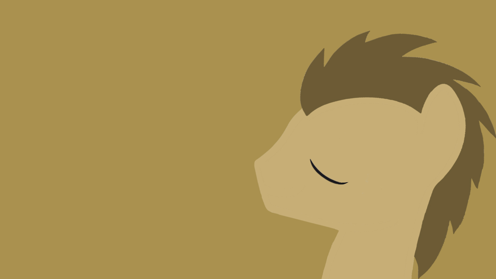 minimalistic my little pony HD Wallpaper