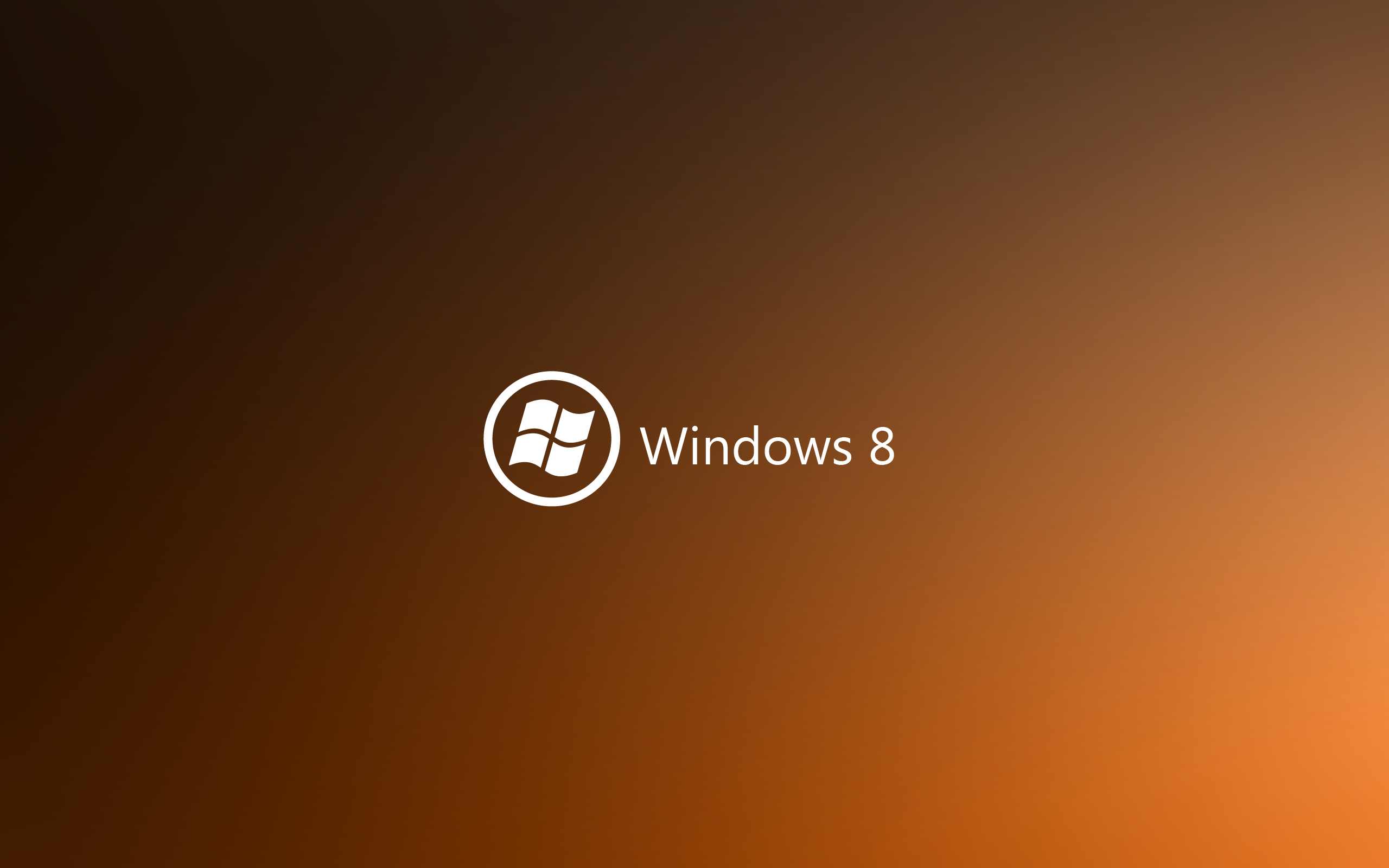 minimalistic orange deviantart windows HD Wallpaper