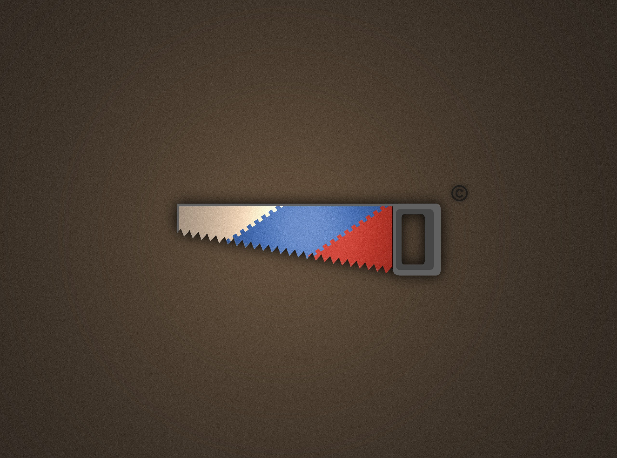 minimalistic Saw Russians HD Wallpaper
