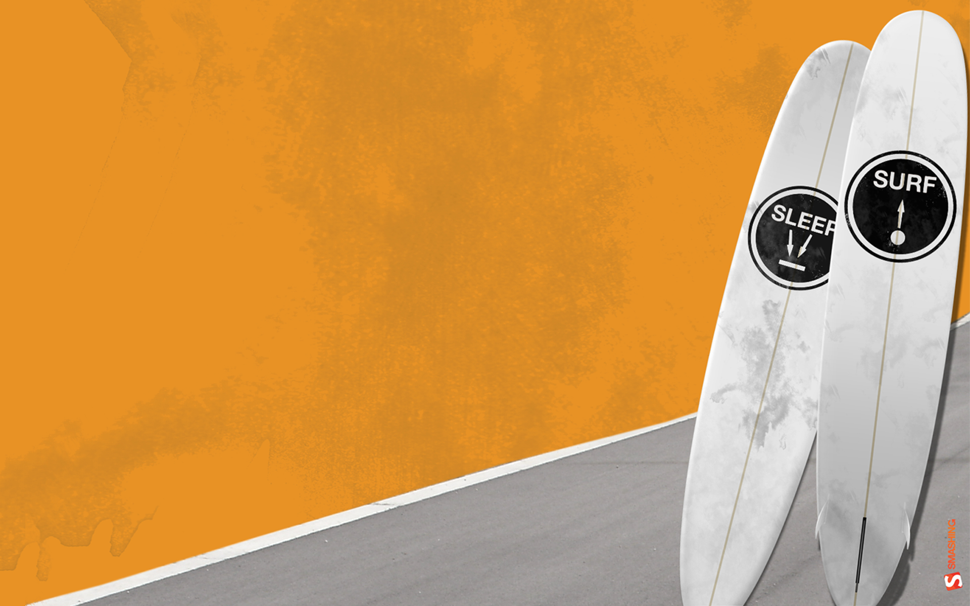 minimalistic surfing Sport HD Wallpaper