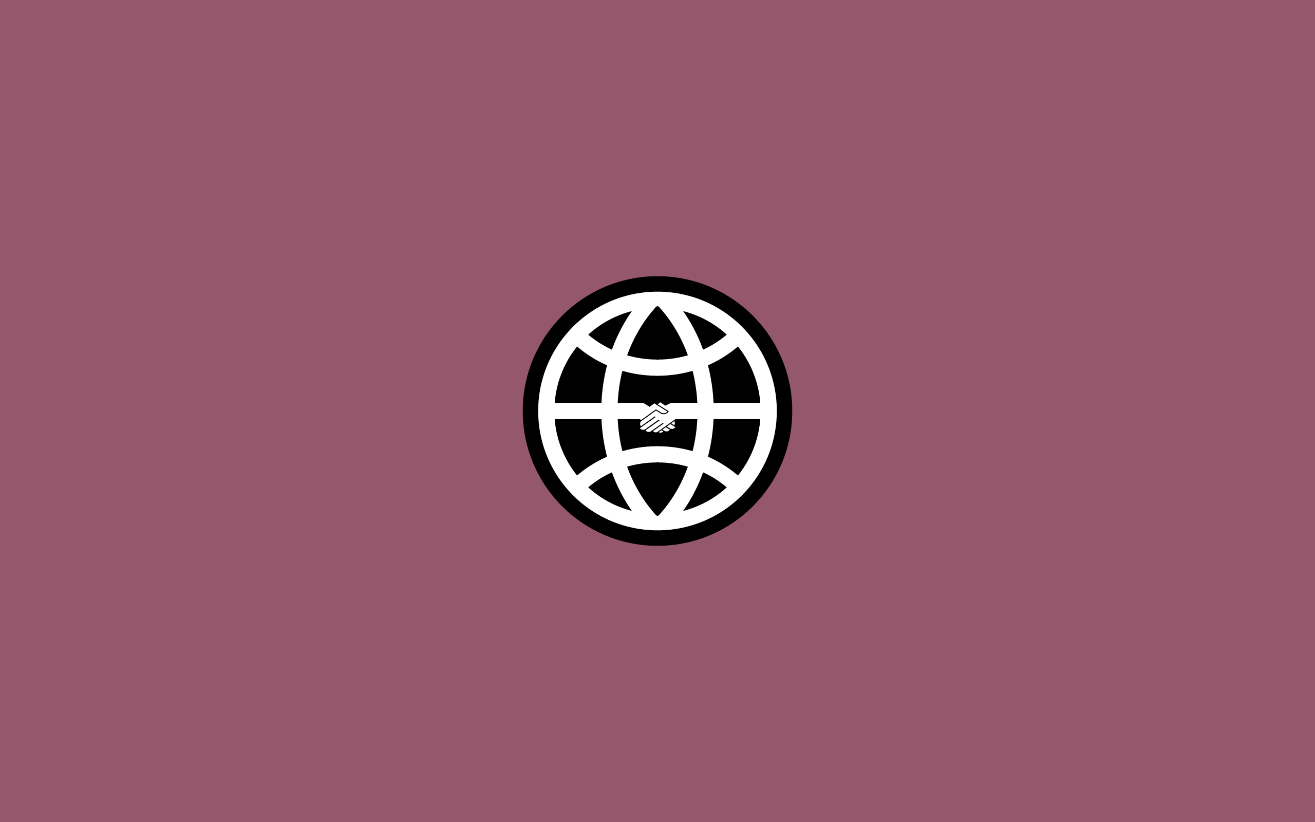 minimalistic World Bank logo HD Wallpaper