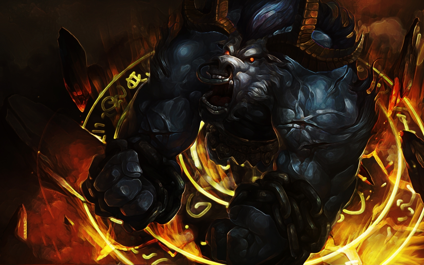 Minotaurus Minotaur League of HD Wallpaper