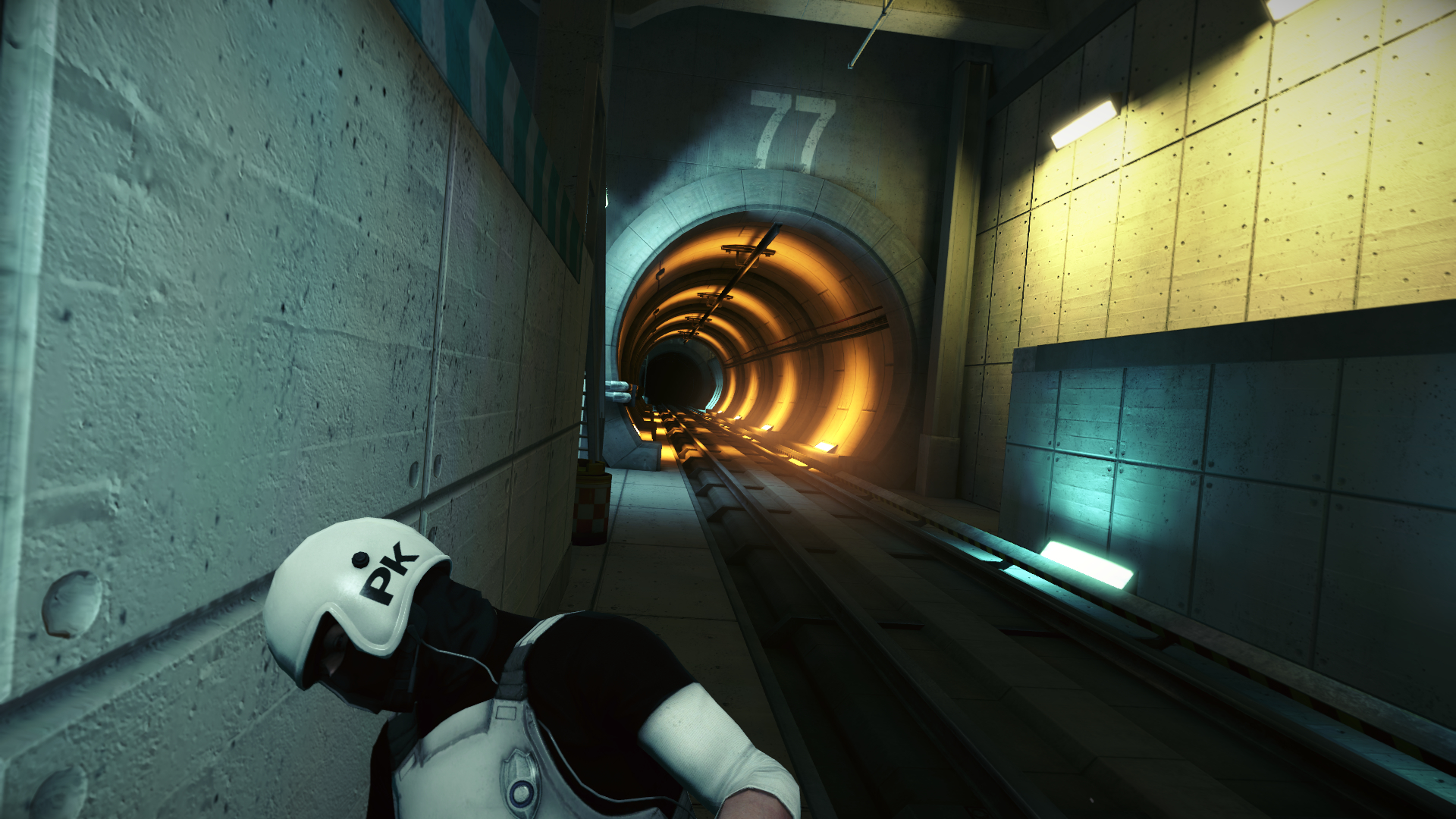 mirrors edge trains parkour HD Wallpaper