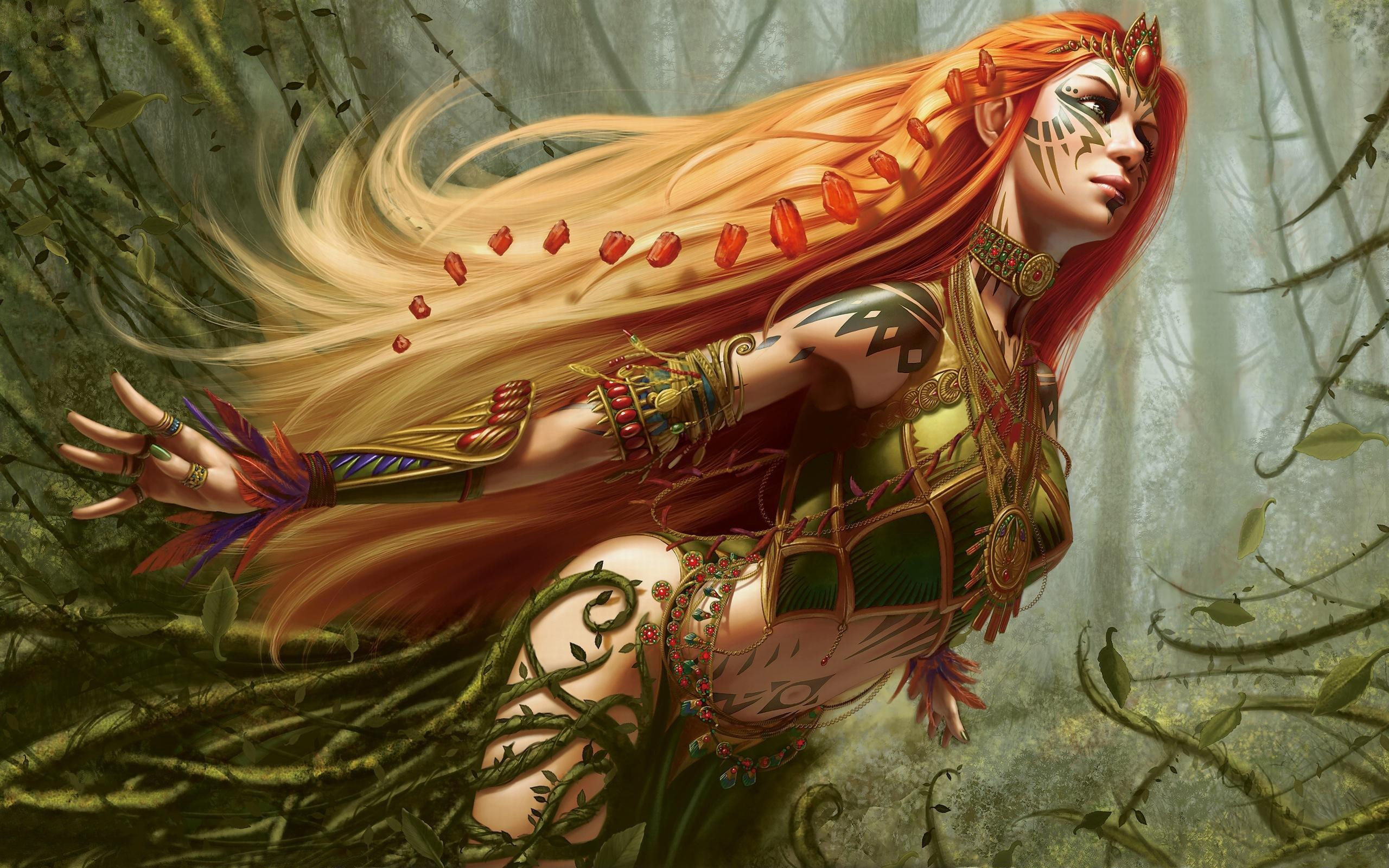 models magic: the gathering HD Wallpaper