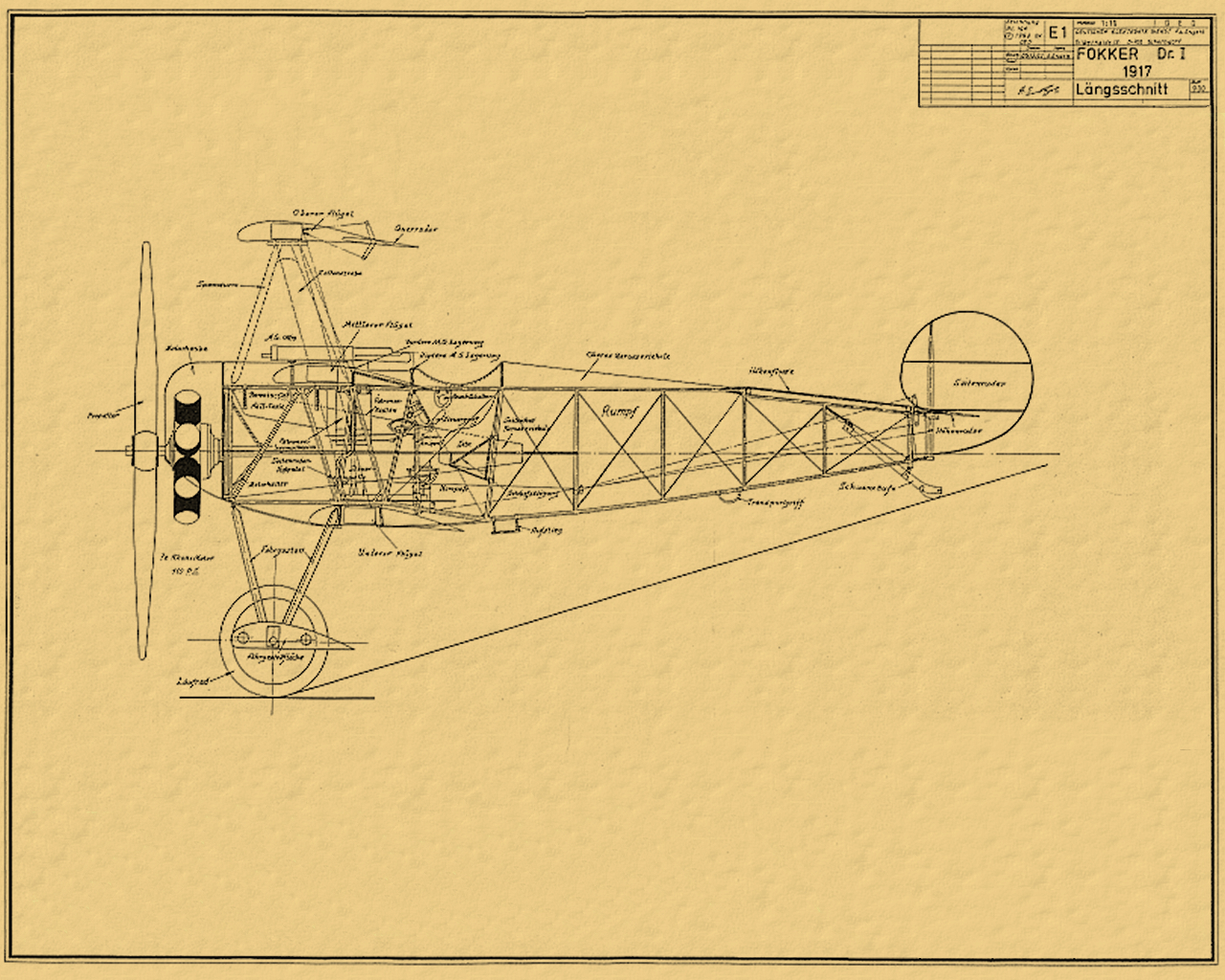 models planes Fokker Dr. HD Wallpaper