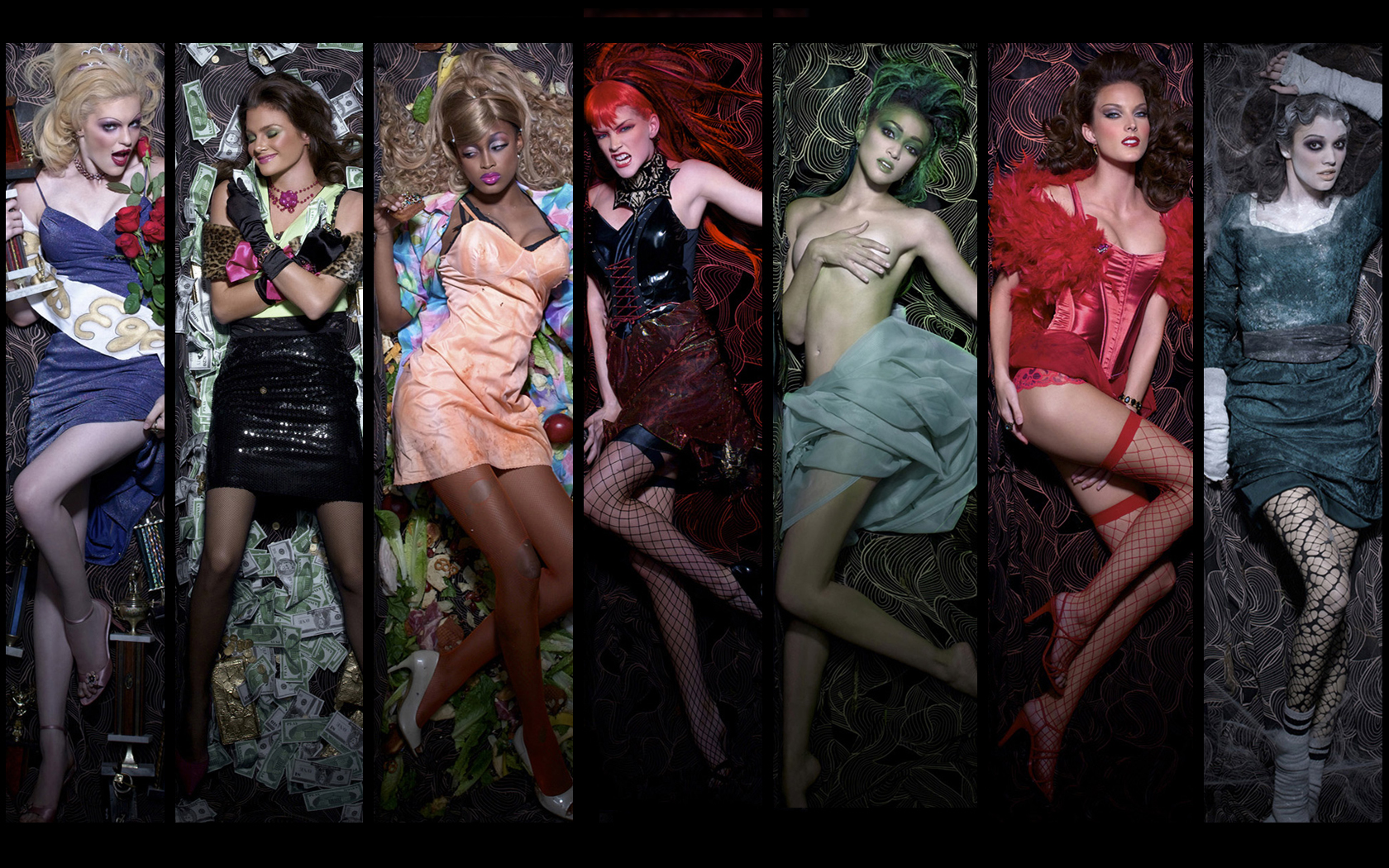 models USA seven deadly