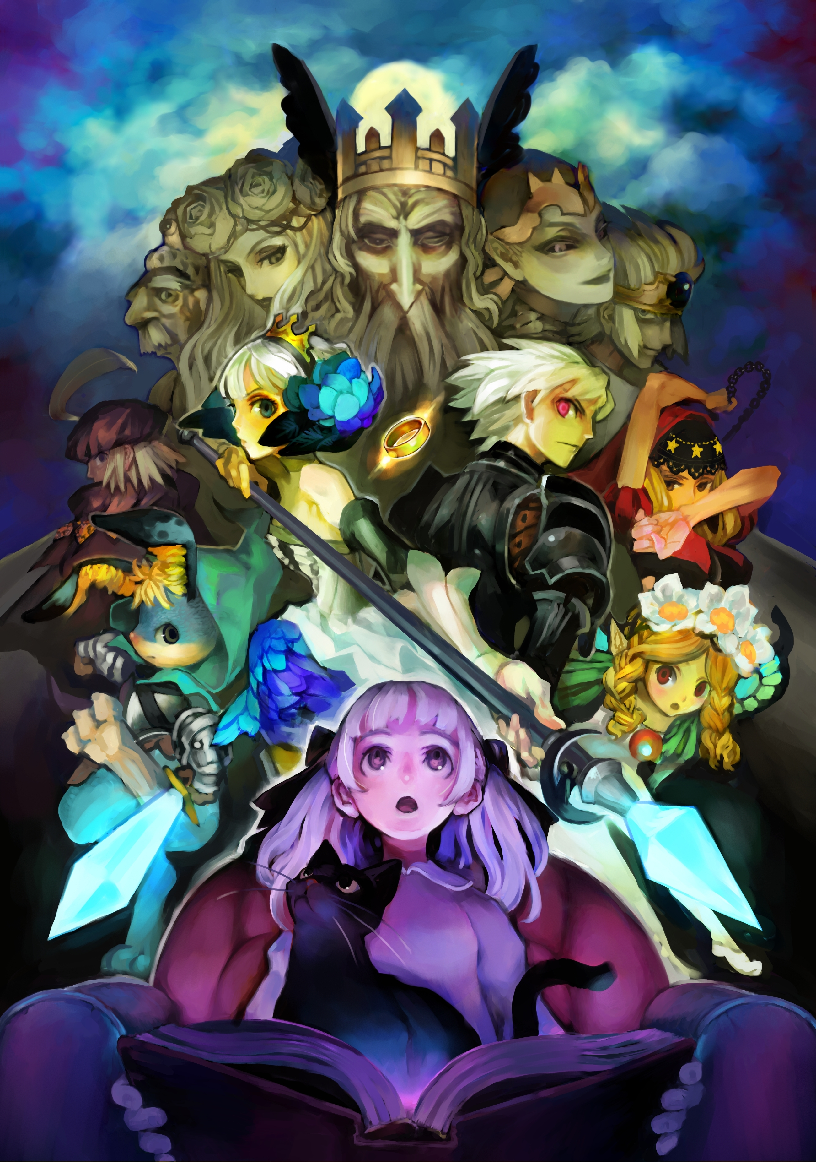 MOE Alice odin Sphere HD Wallpaper