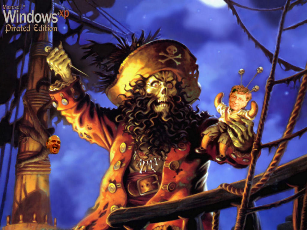 monkey Island bill gates HD Wallpaper