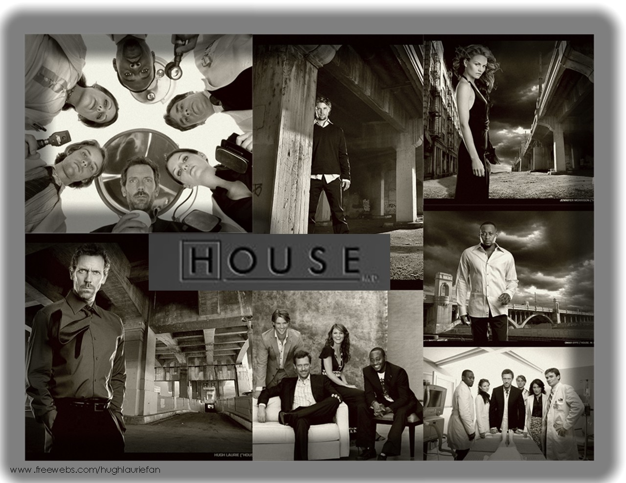monochrome House M.D. TV