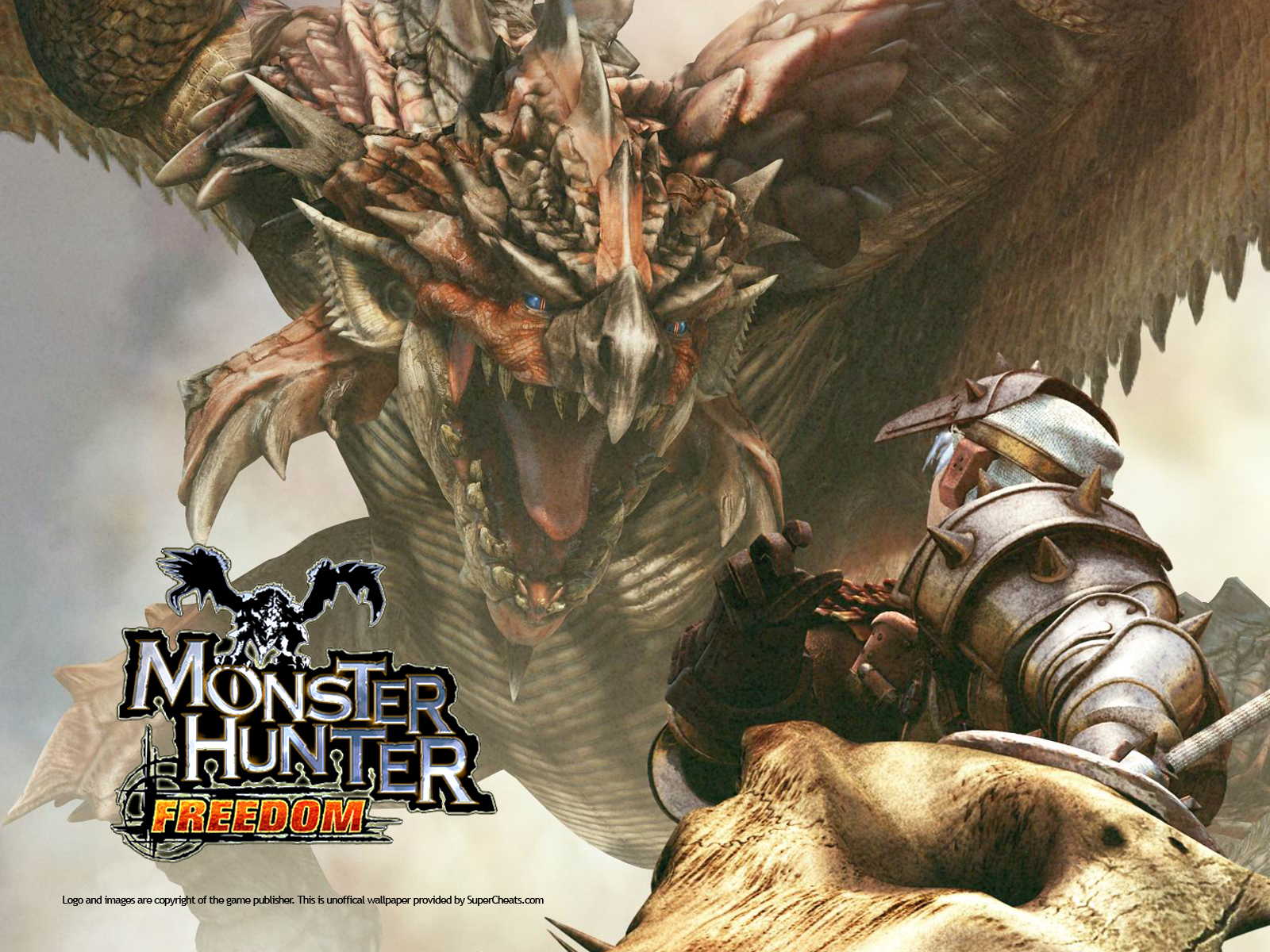 monster hunter Animals HD Wallpaper