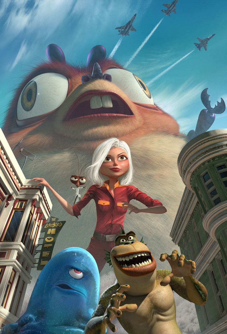 Monsters vs Aliens alien