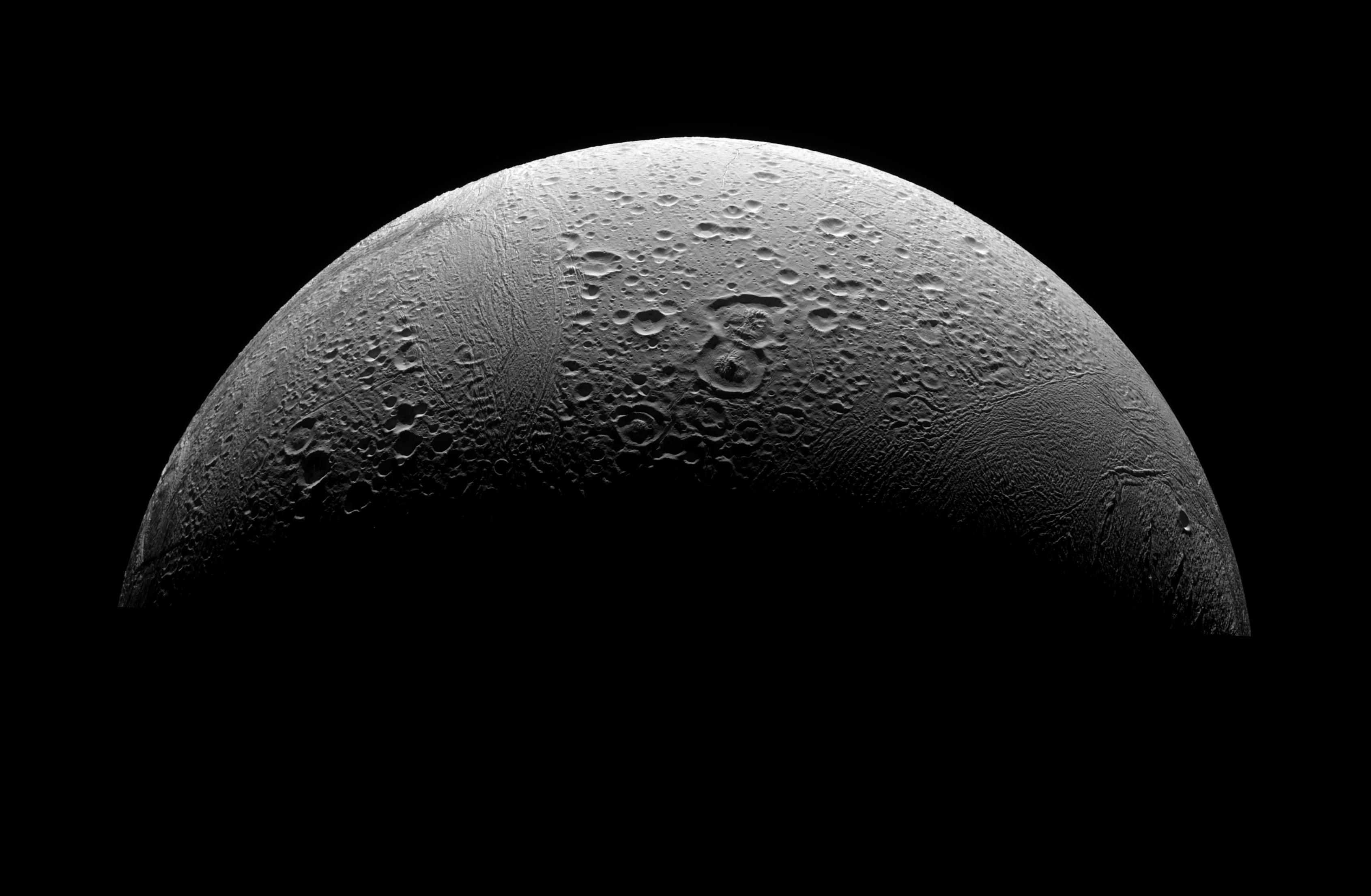 moon Enceladus HD Wallpaper