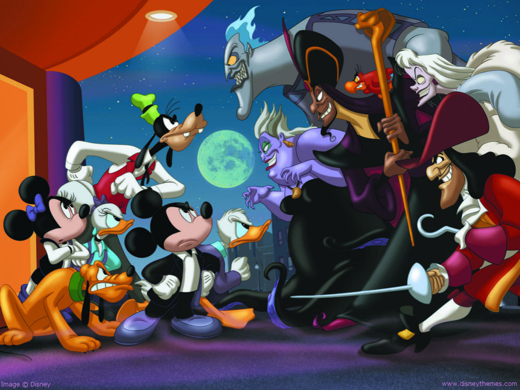 moon goofy villains Pluto HD Wallpaper