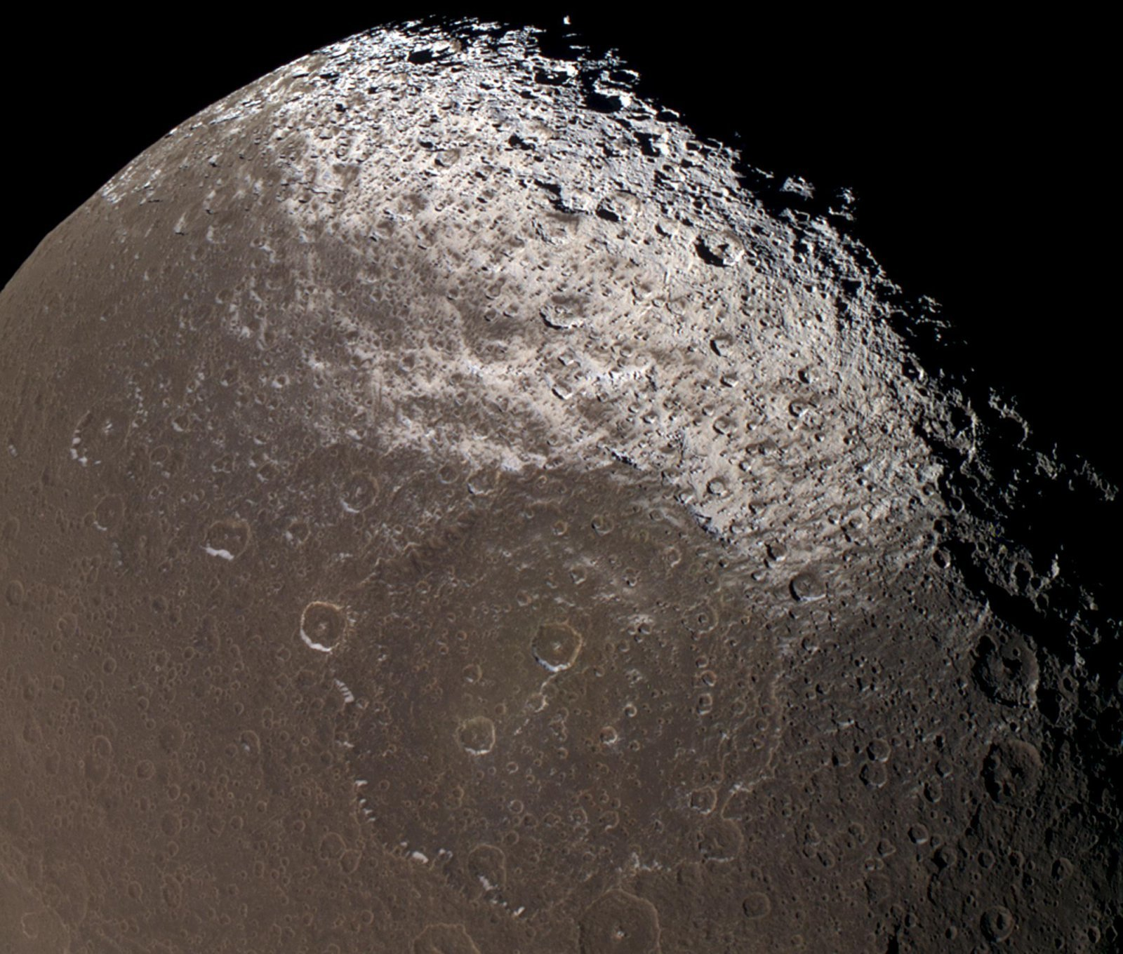 moon iapetus discovered by HD Wallpaper