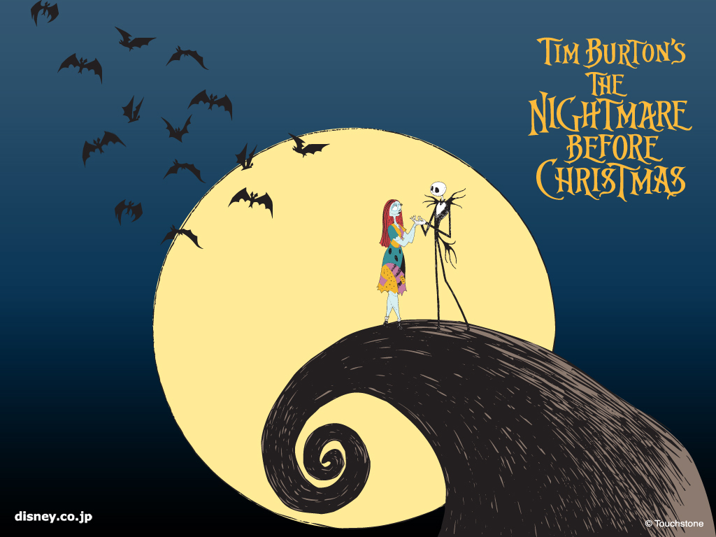 moon The Nightmare Before HD Wallpaper