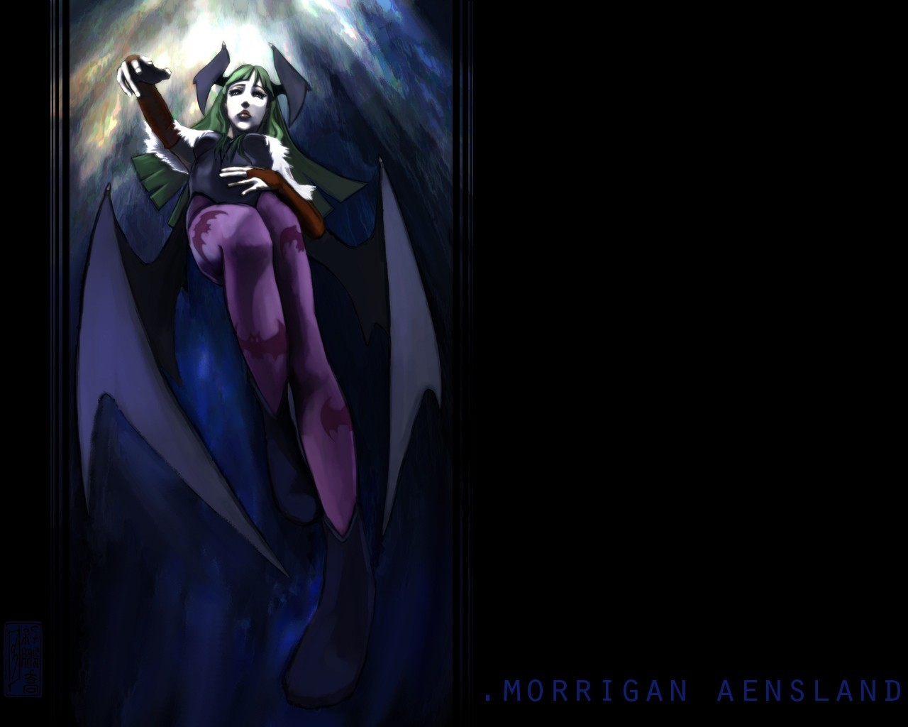 Morrigan Aensland Darkstalkers video HD Wallpaper