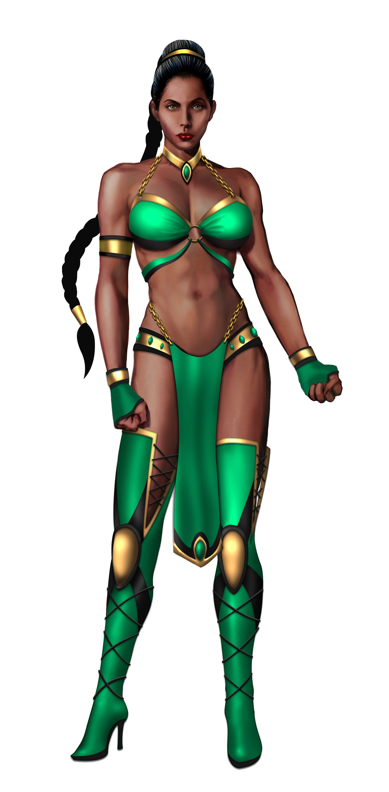 mortal kombat artwork jade HD Wallpaper