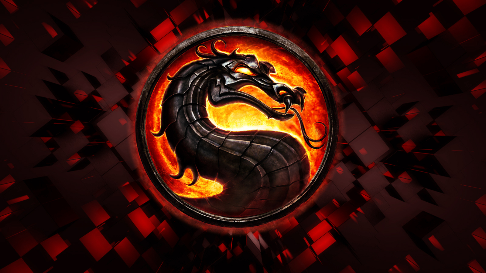mortal kombat logo Company HD Wallpaper