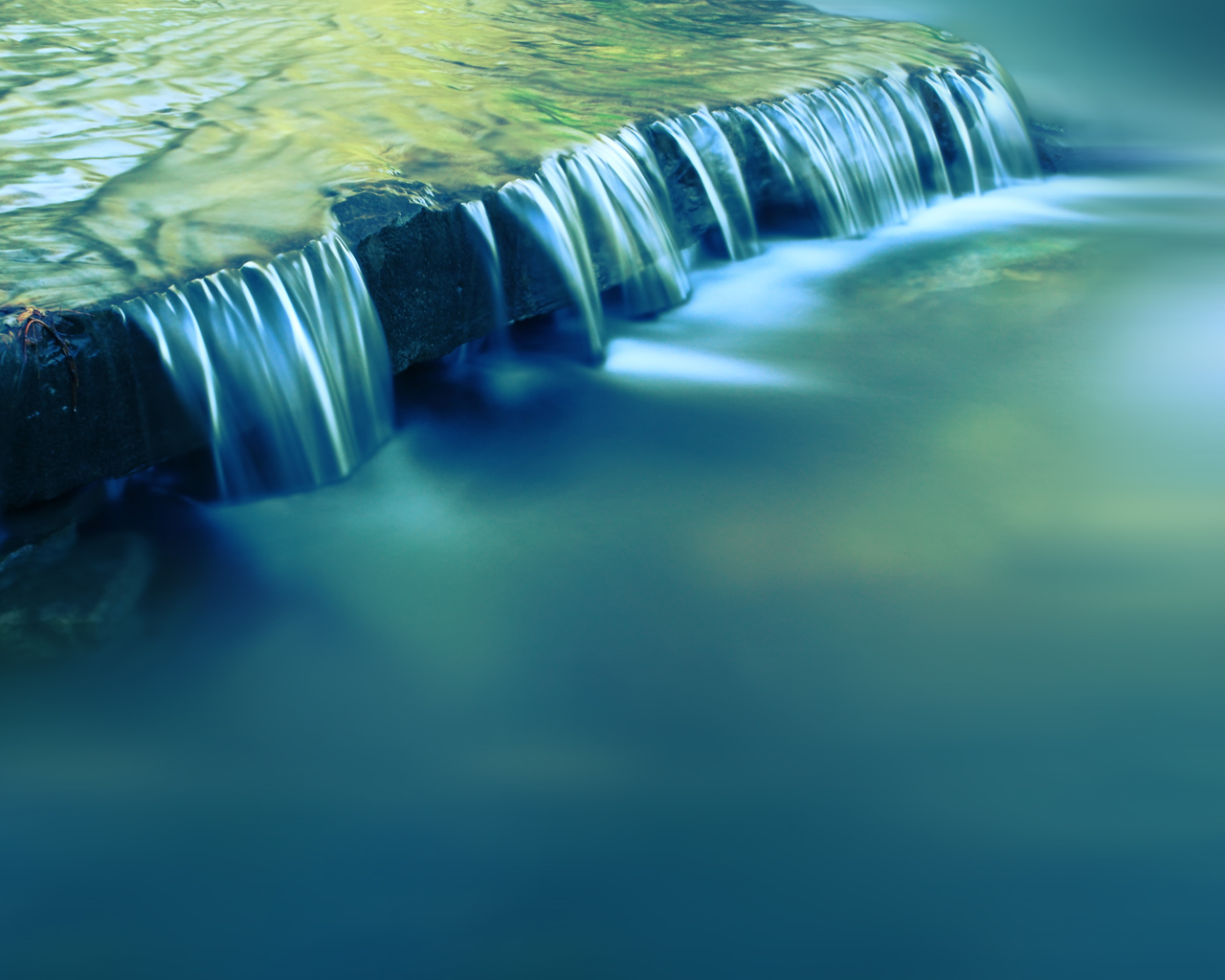 motion blur waterfalls HD Wallpaper