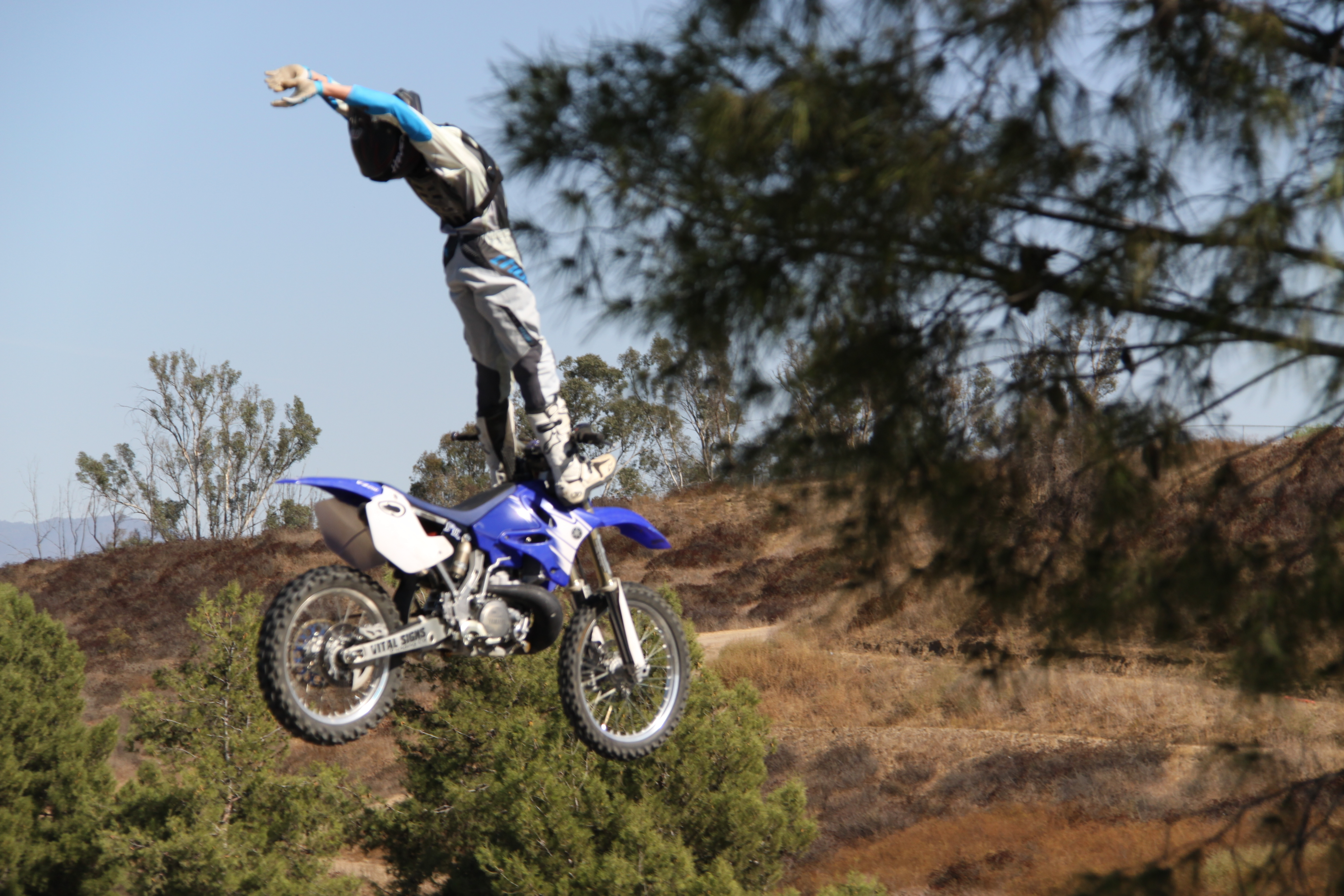 motocross vehicles motorbikes freestyle HD Wallpaper