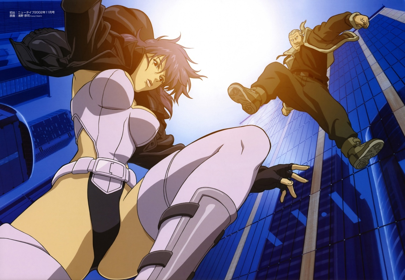 motoko kusanagi major ghost HD Wallpaper