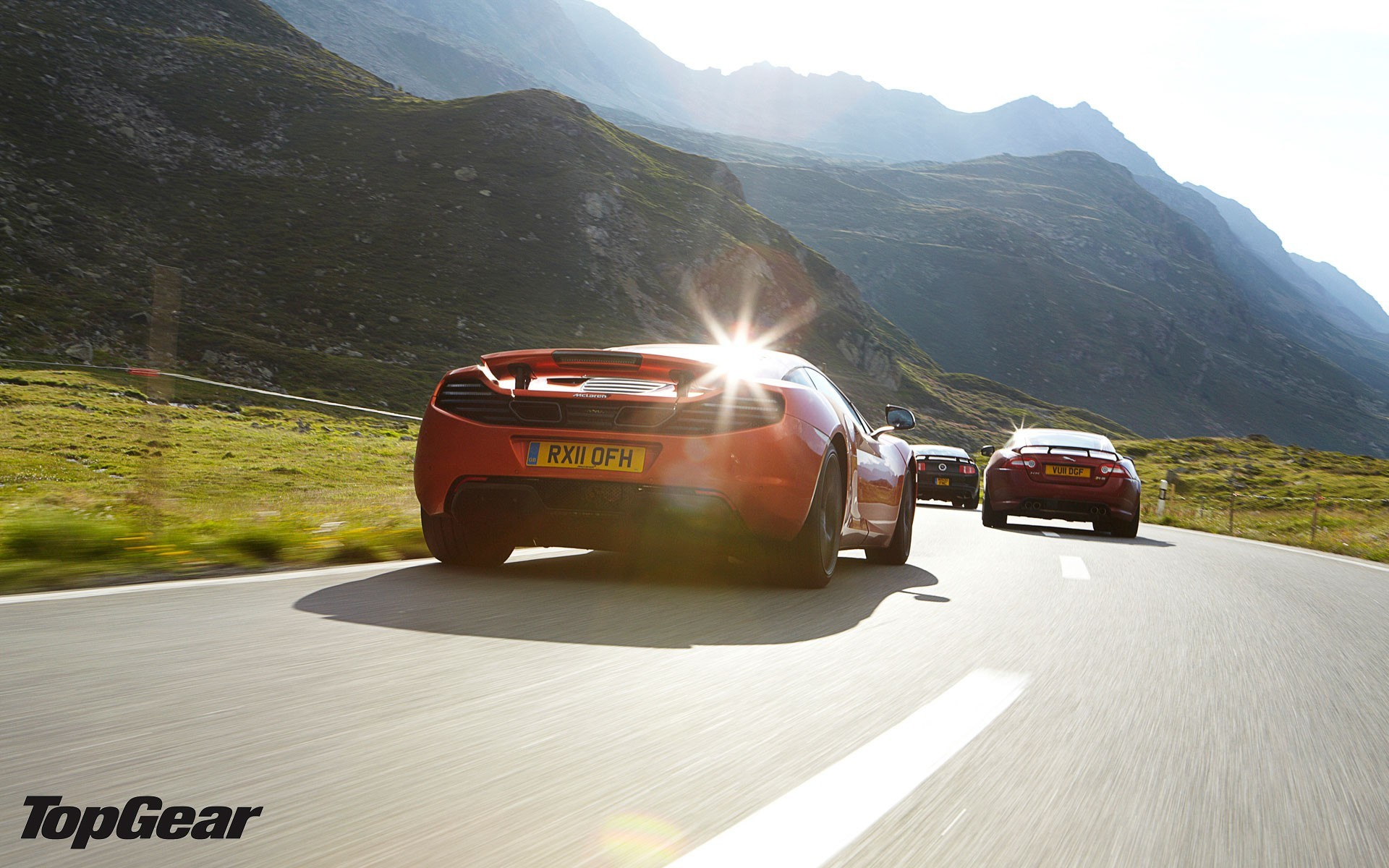 Mountains cars top gear HD Wallpaper