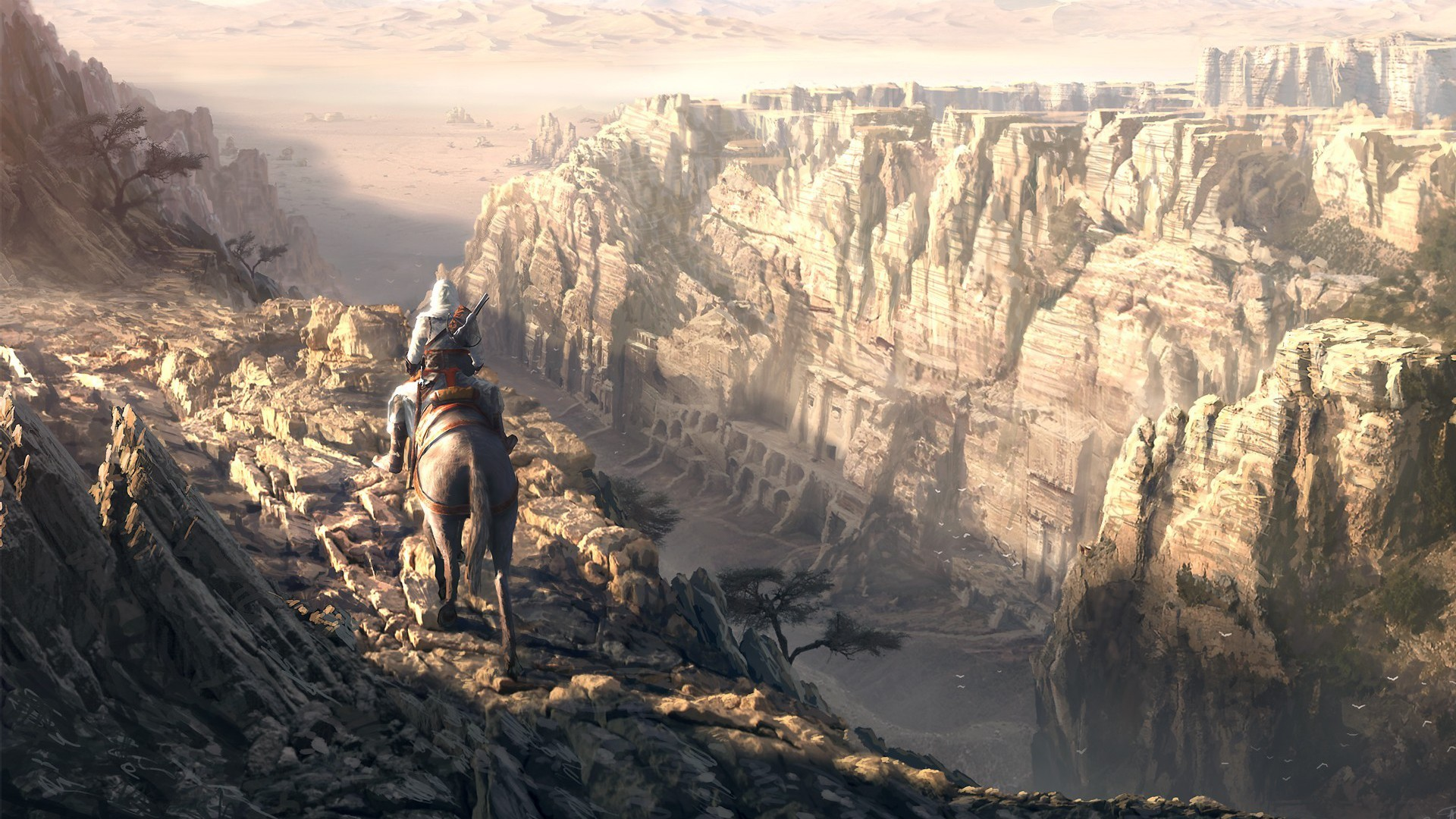 Mountains Landscapes assassins creed HD Wallpaper