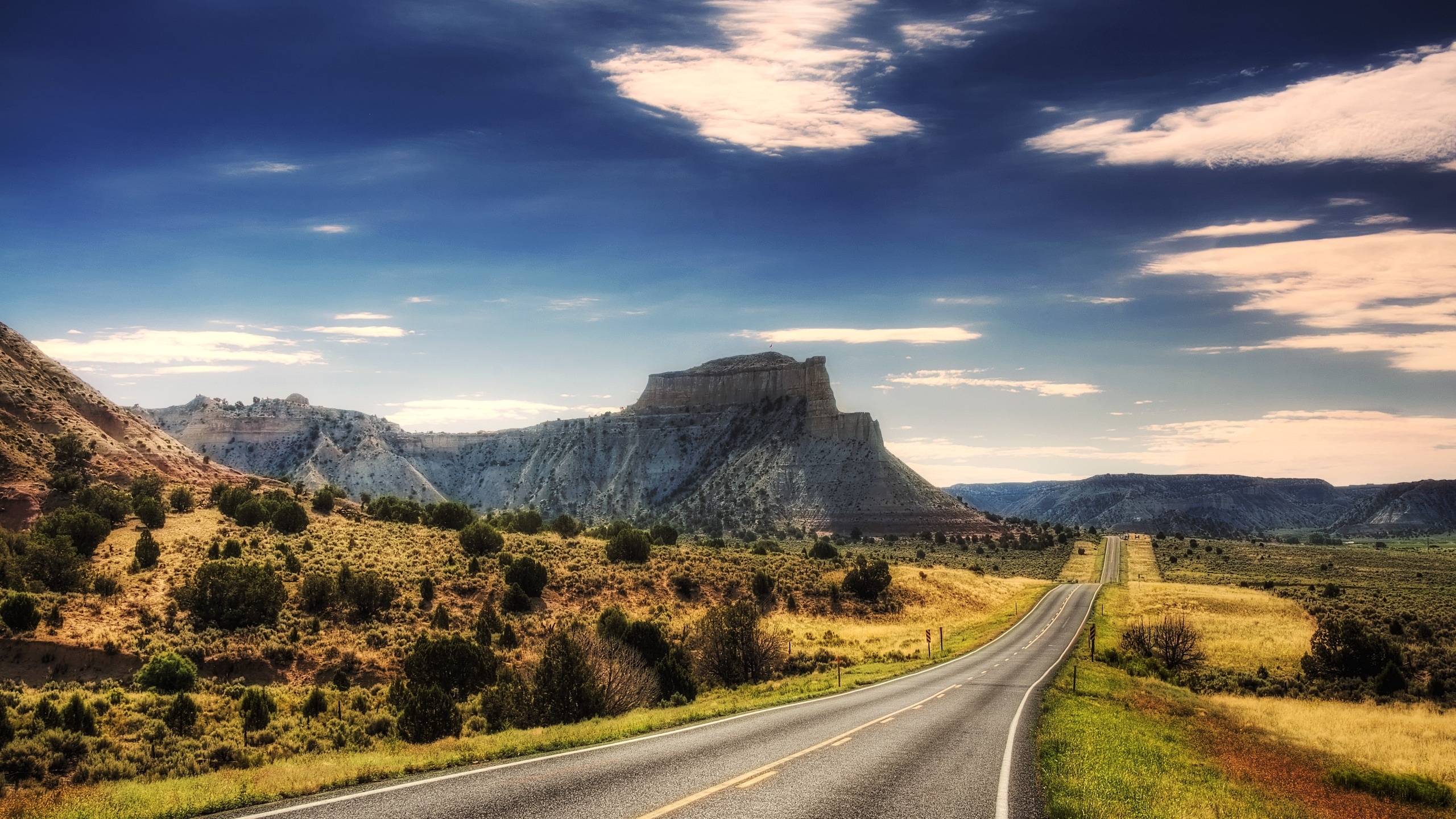 Mountains roads best widescreen HD Wallpaper