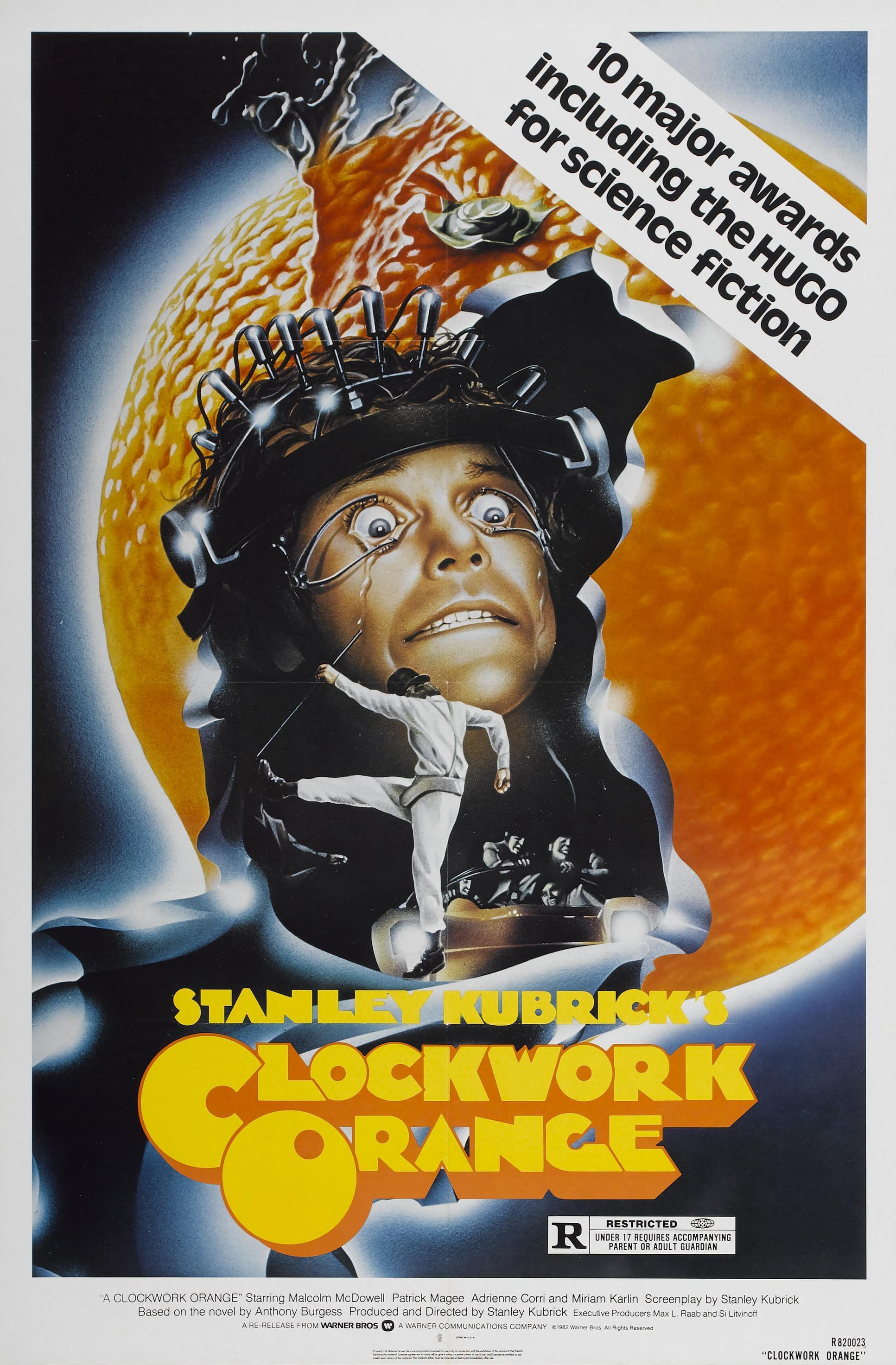 movie posters A Clockwork HD Wallpaper