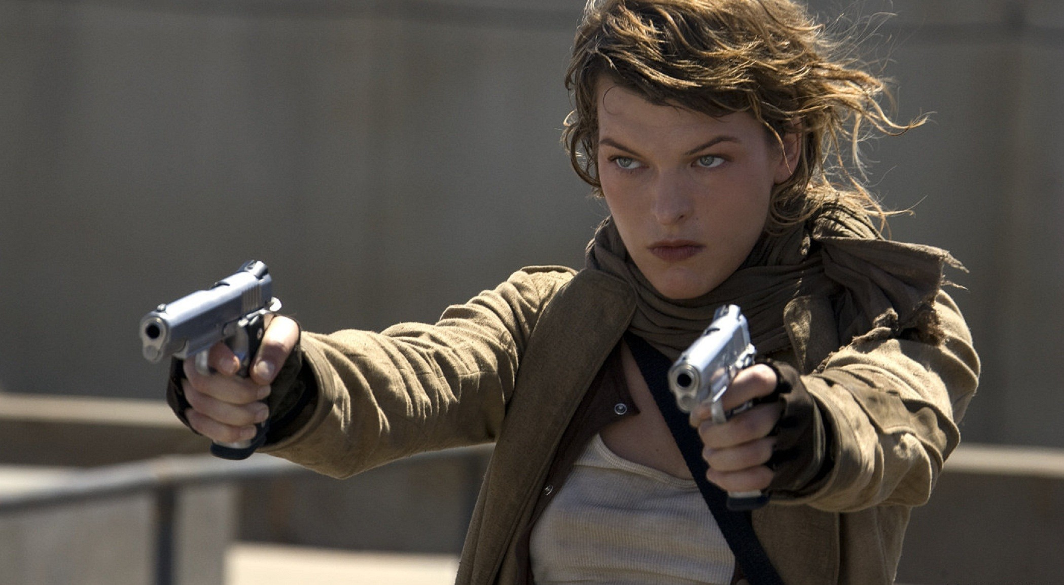 Movies Actress Resident Evil HD Wallpaper