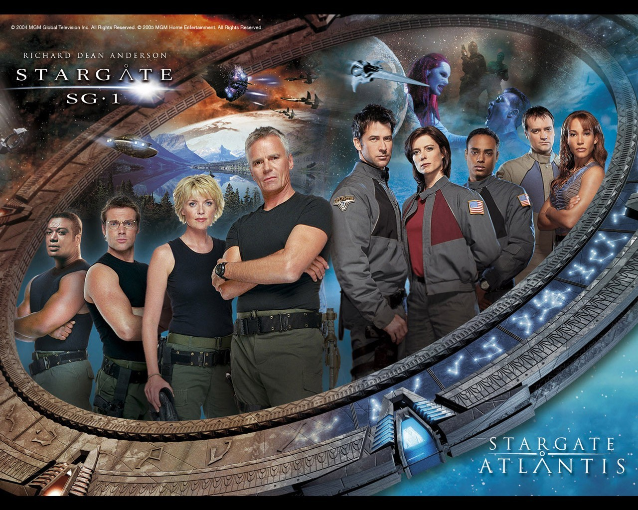 Movies amanda tapping Stargate HD Wallpaper