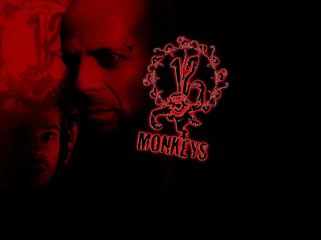 Movies Bruce Willis monkeys HD Wallpaper