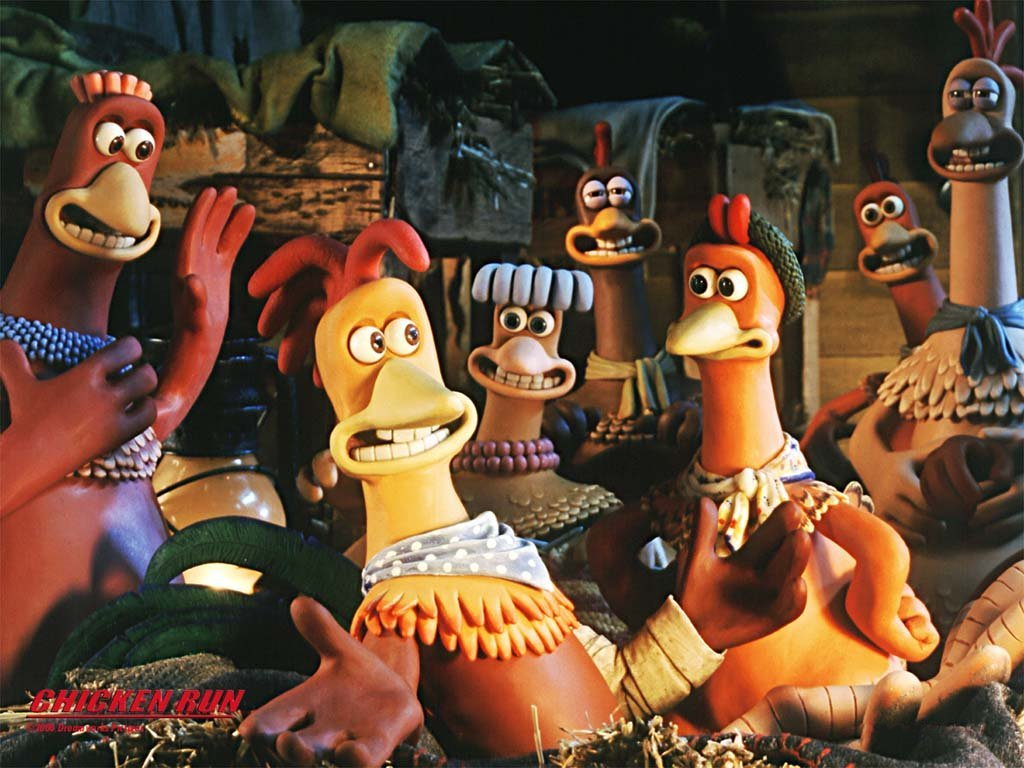 Movies Chicken Run HD Wallpaper