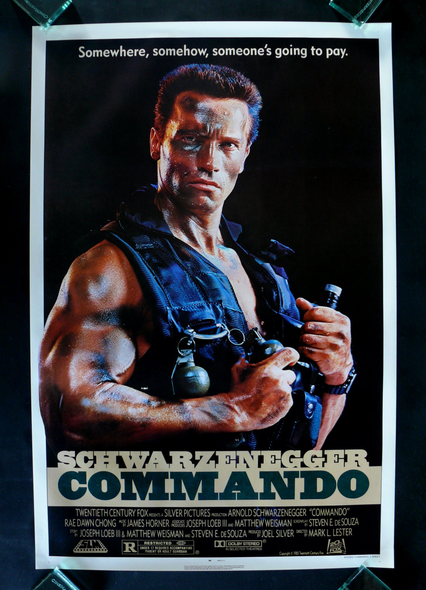 Movies Commando Arnold Schwarzenegger HD Wallpaper