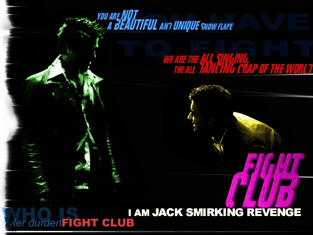 Movies fight club Brad
