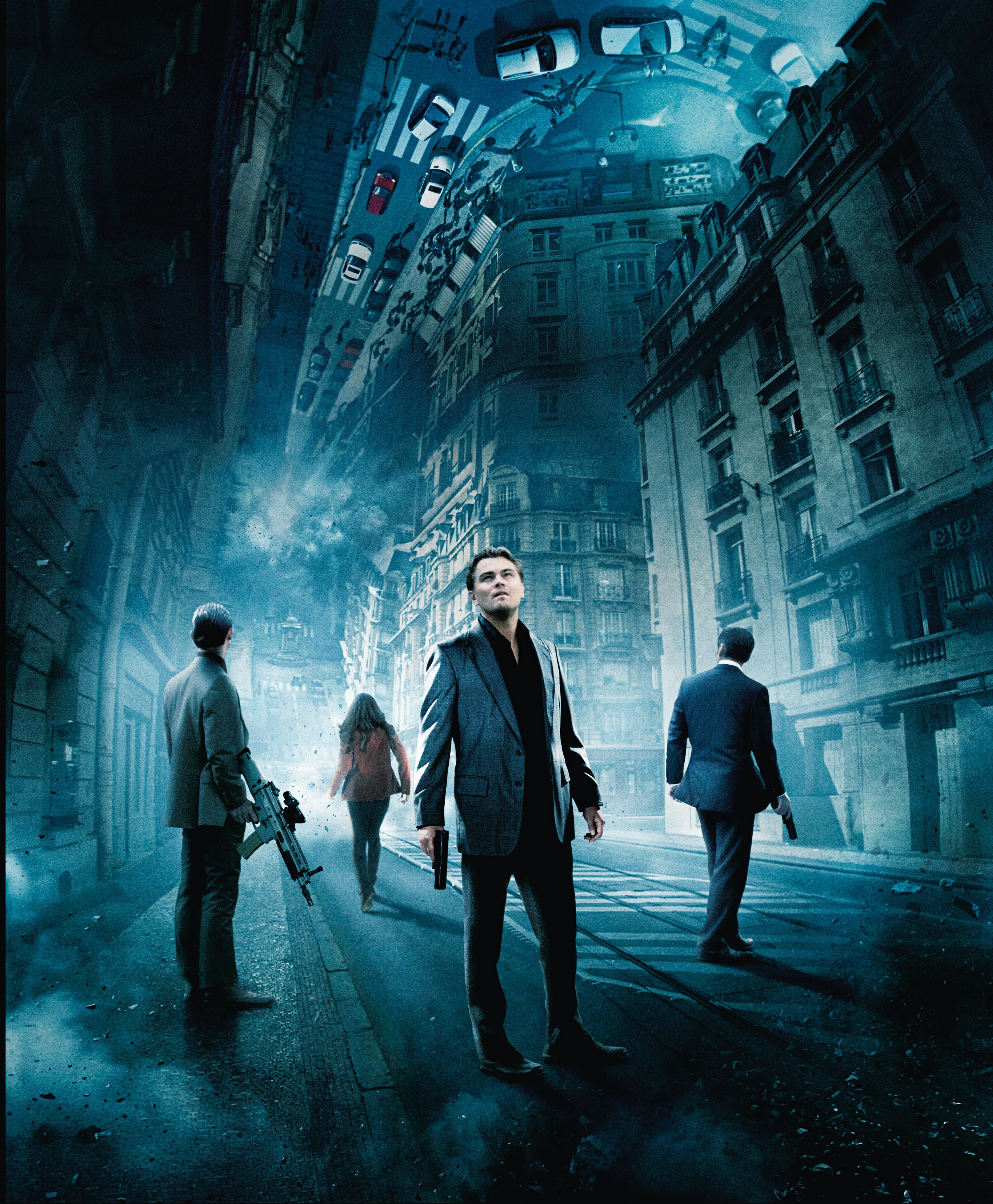 Movies inception Leonardo DiCaprio HD Wallpaper