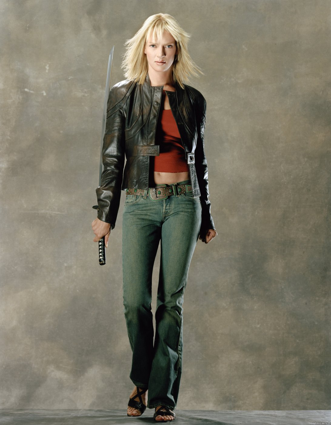 Movies Katana Uma Thurman HD Wallpaper