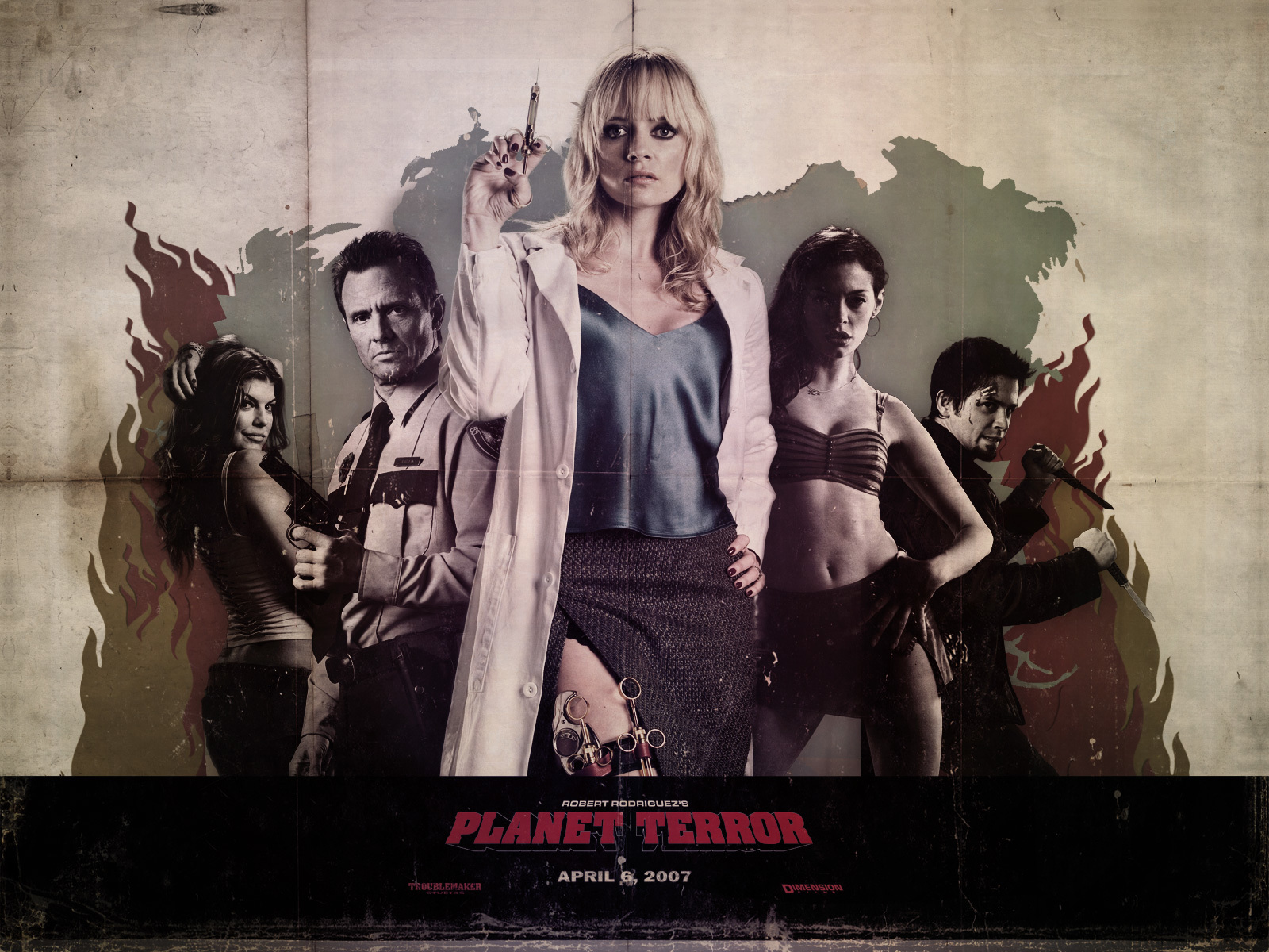 Movies planet terror Space HD Wallpaper