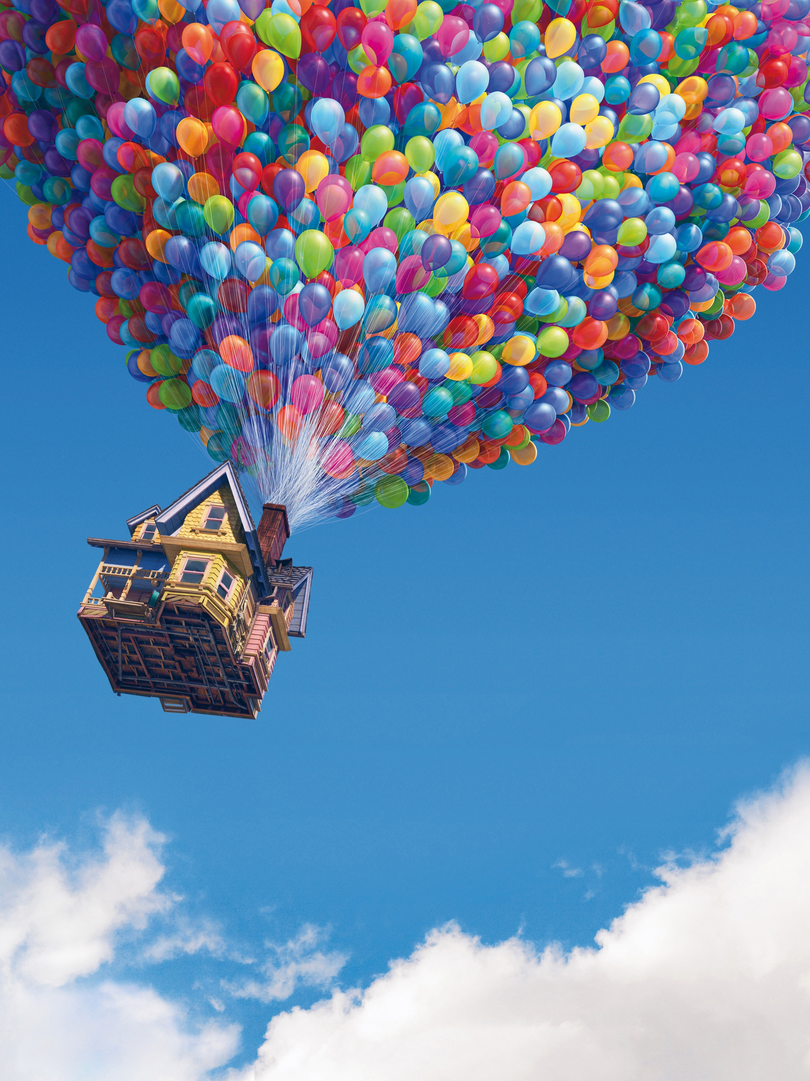 Movies Up (movie) Balloons HD Wallpaper