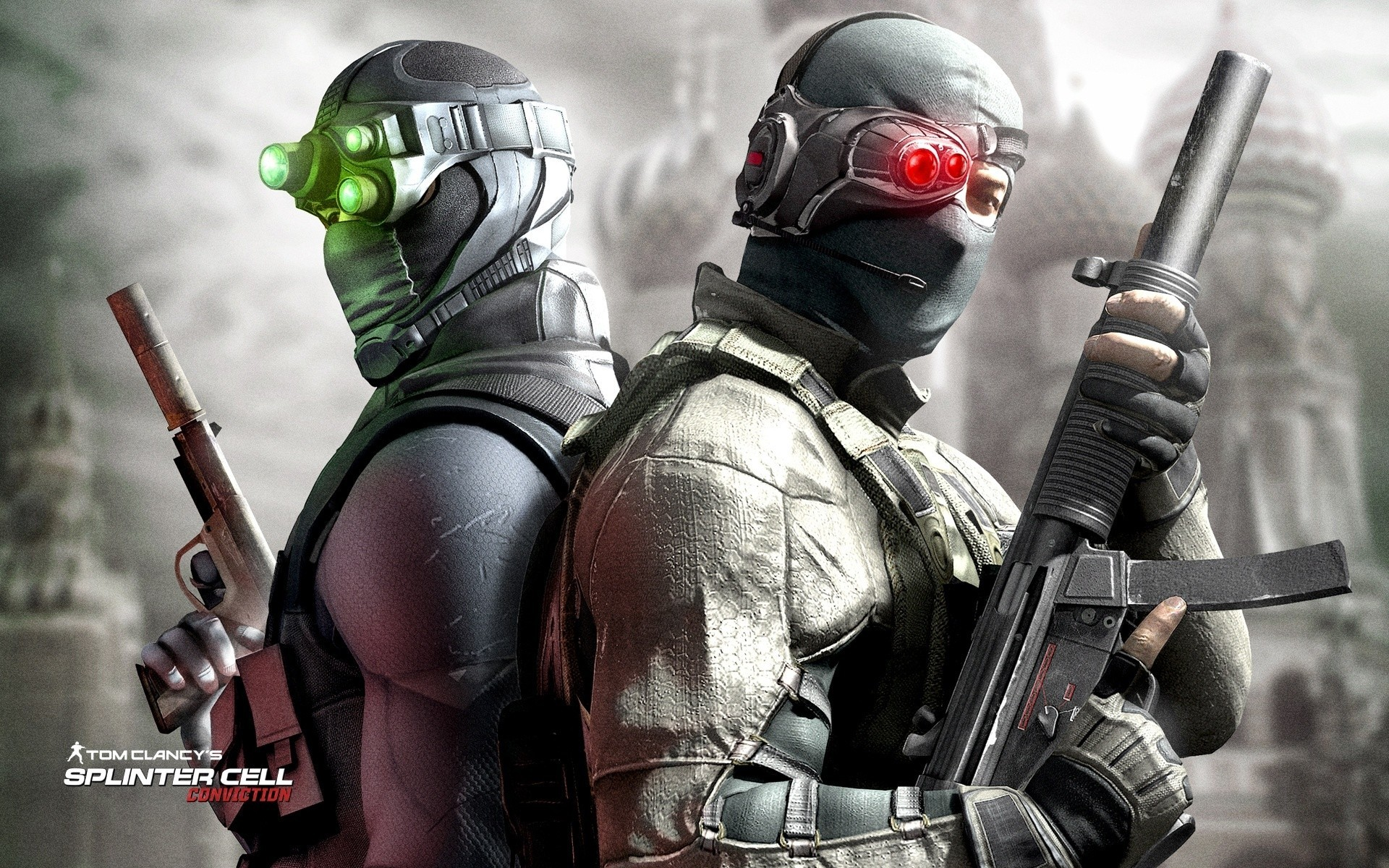 mp5 Splinter Cell Sam HD Wallpaper